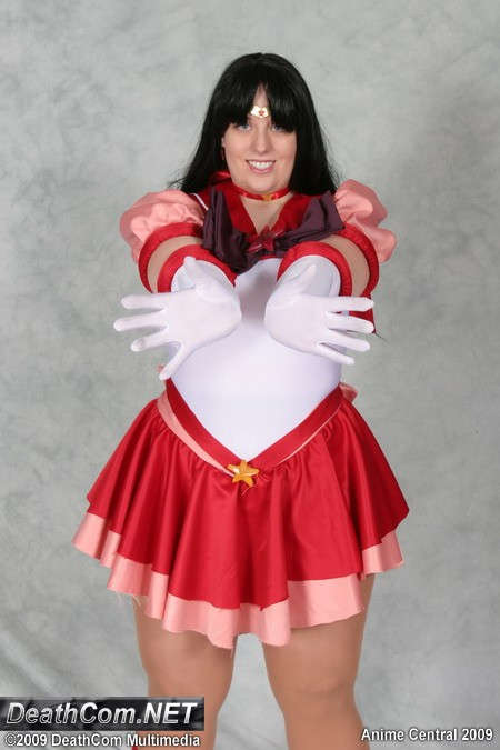 This costume was giving and remade for a friend Eternal Sailor Mars Costume